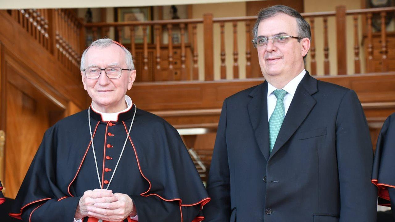 Secretario de Estado del Vaticano pide a México superar división y violencia