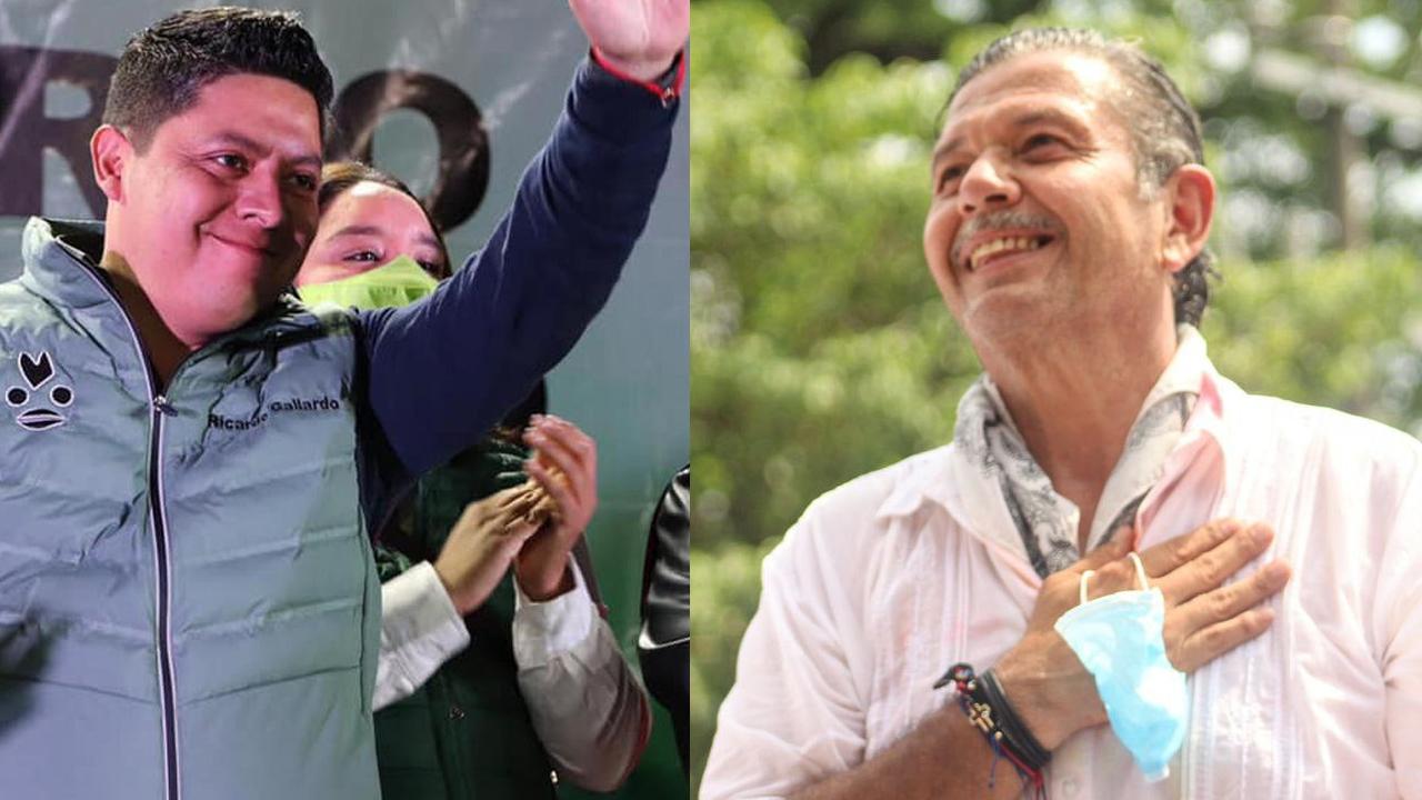 En San Luis Potosí, Gallardo y Pedroza se declaran ganadores