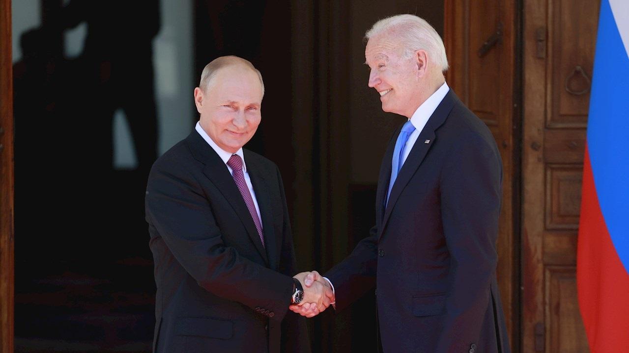 Joe Biden y Vladimir Putin se reúnen en Ginebra por primera vez