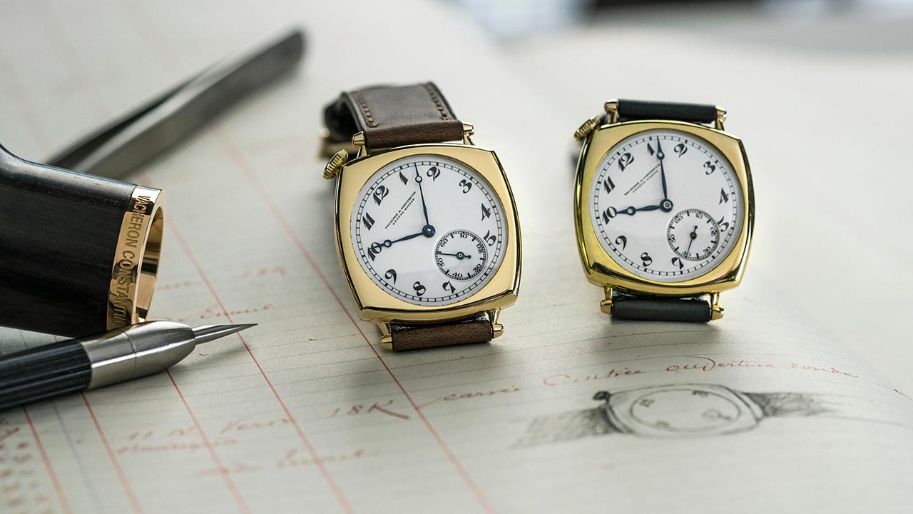 Como si fuera 1921, Vacheron Constantin recrea un reloj histórico