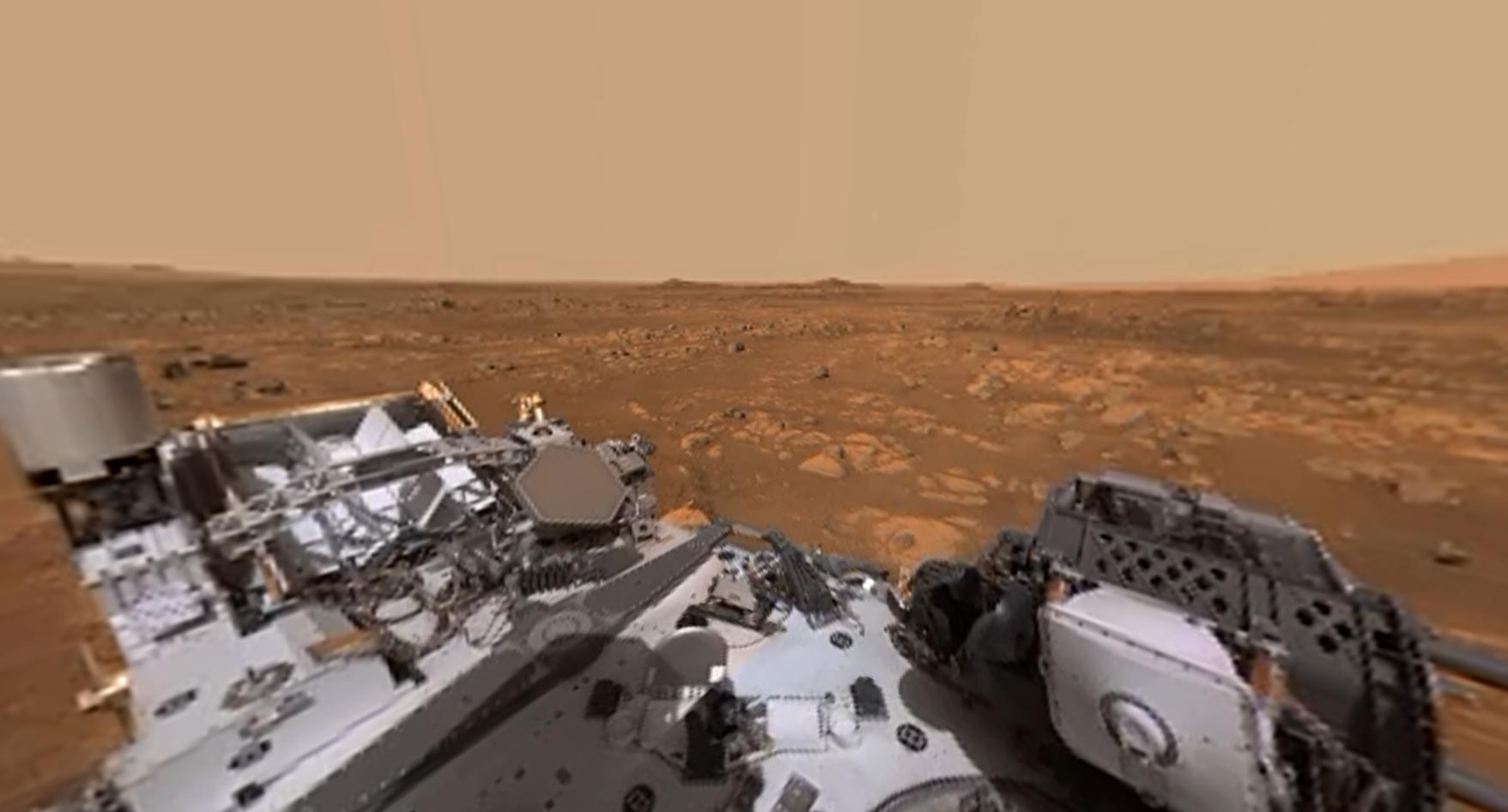 La NASA revela video 360 de la superficie de Marte