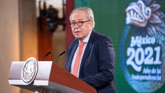 Jorge Alcocer Varela, secretario de Salud.