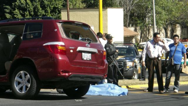 Homicidios dolosos en México. Foto: Reuters