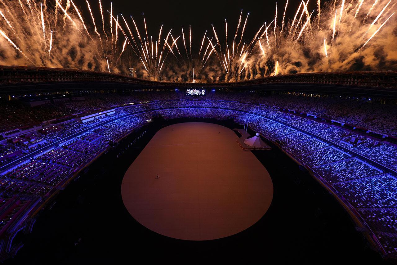 Fotogalería: Tokio presume su antigua esencia en la apertura de los Juegos Olímpicos
