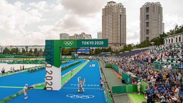 Triatlon TOKYO 2020 OLYMPICS DAY 3 TRIATHLON