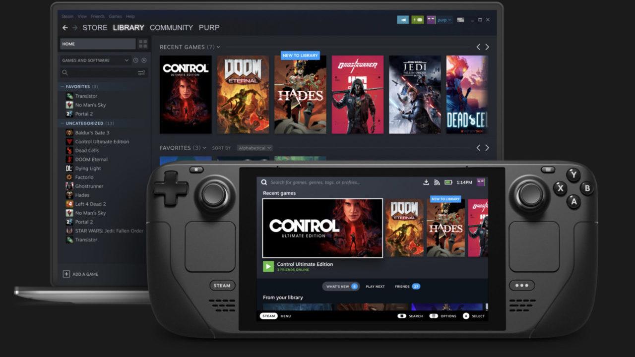Steam lanza una consola tipo Nintendo Switch; busca convencer a sus 120 millones de usuarios