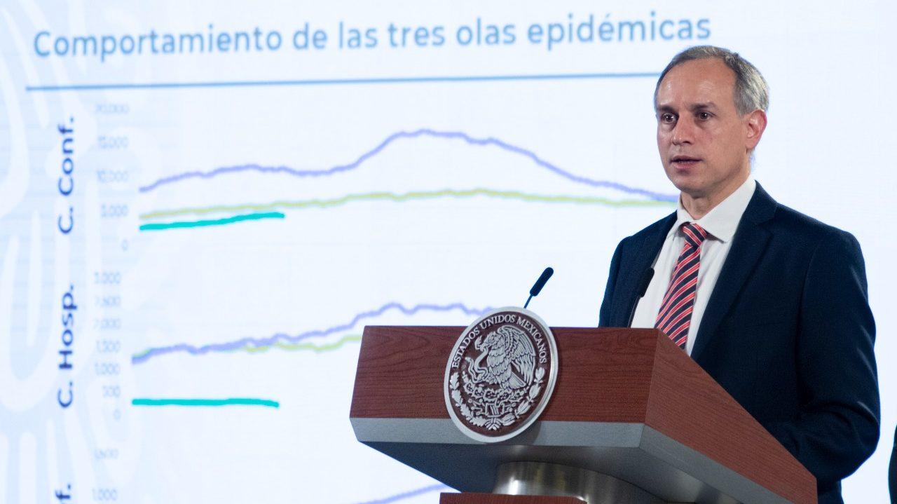 México lleva 4 semanas con tercera ola de Covid-19: Ssa
