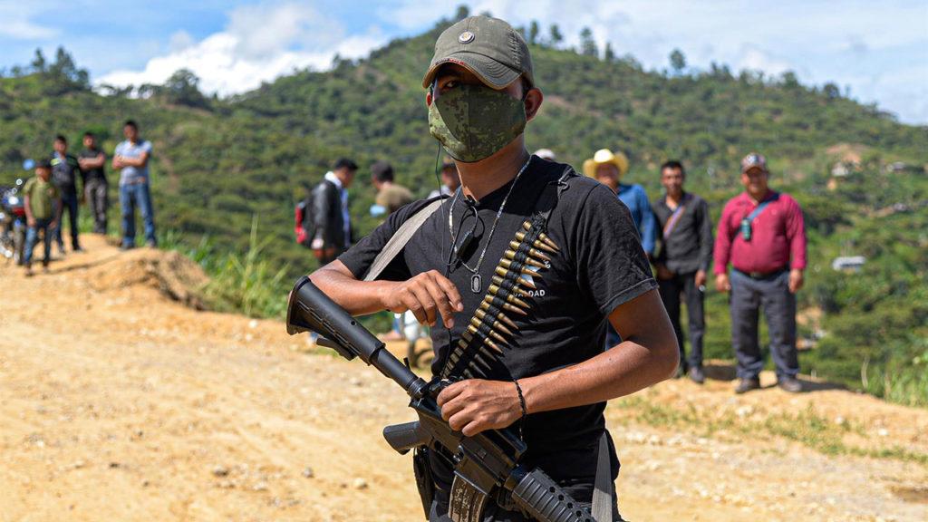 Autodefensas El Machete Chiapas 6