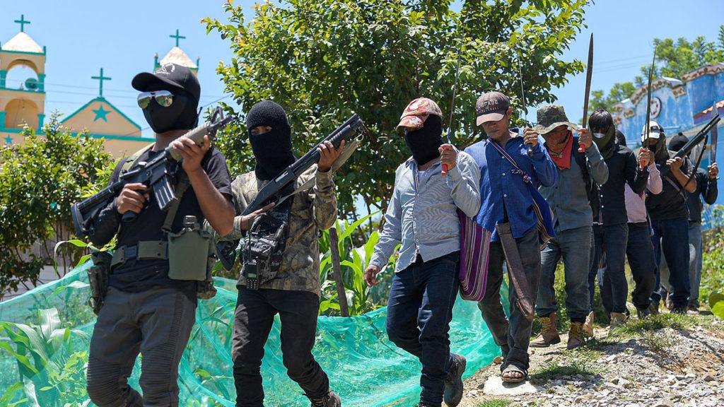 Autodefensas El Machete Chiapas 2