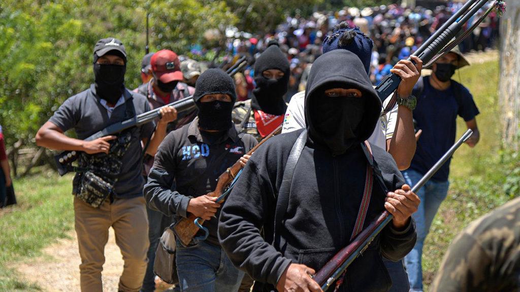 Autodefensas El Machete Chiapas 5