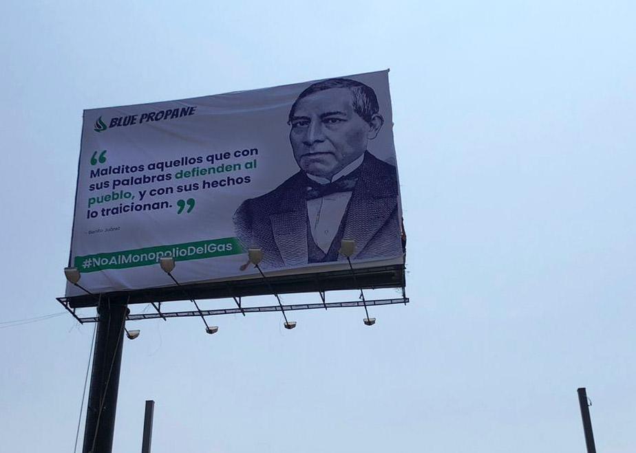 Censuran en BC campaña en contra del monopolio del gas LP