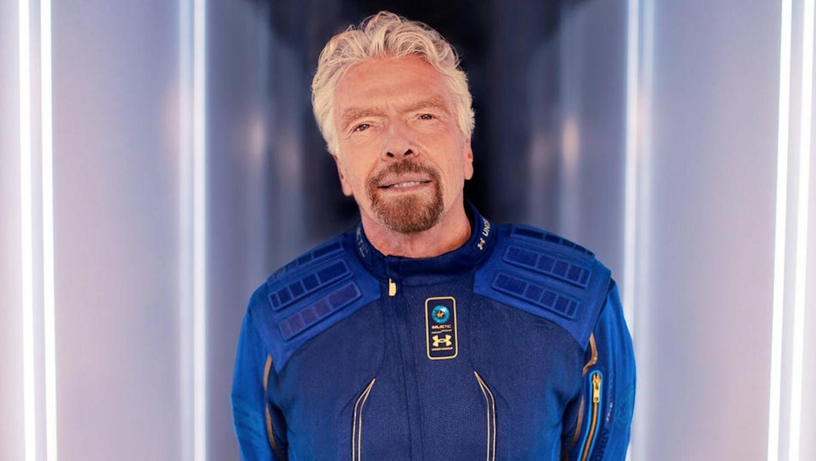 Cómo el fundador de Virgin se convirtió en el primer multimillonario en volar su propio cohete