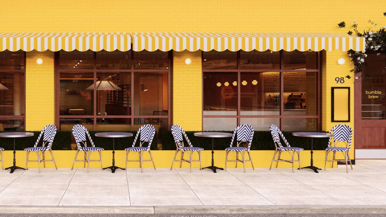 Bumble revela Brew, su primer café o el espacio ideal para una primera cita
