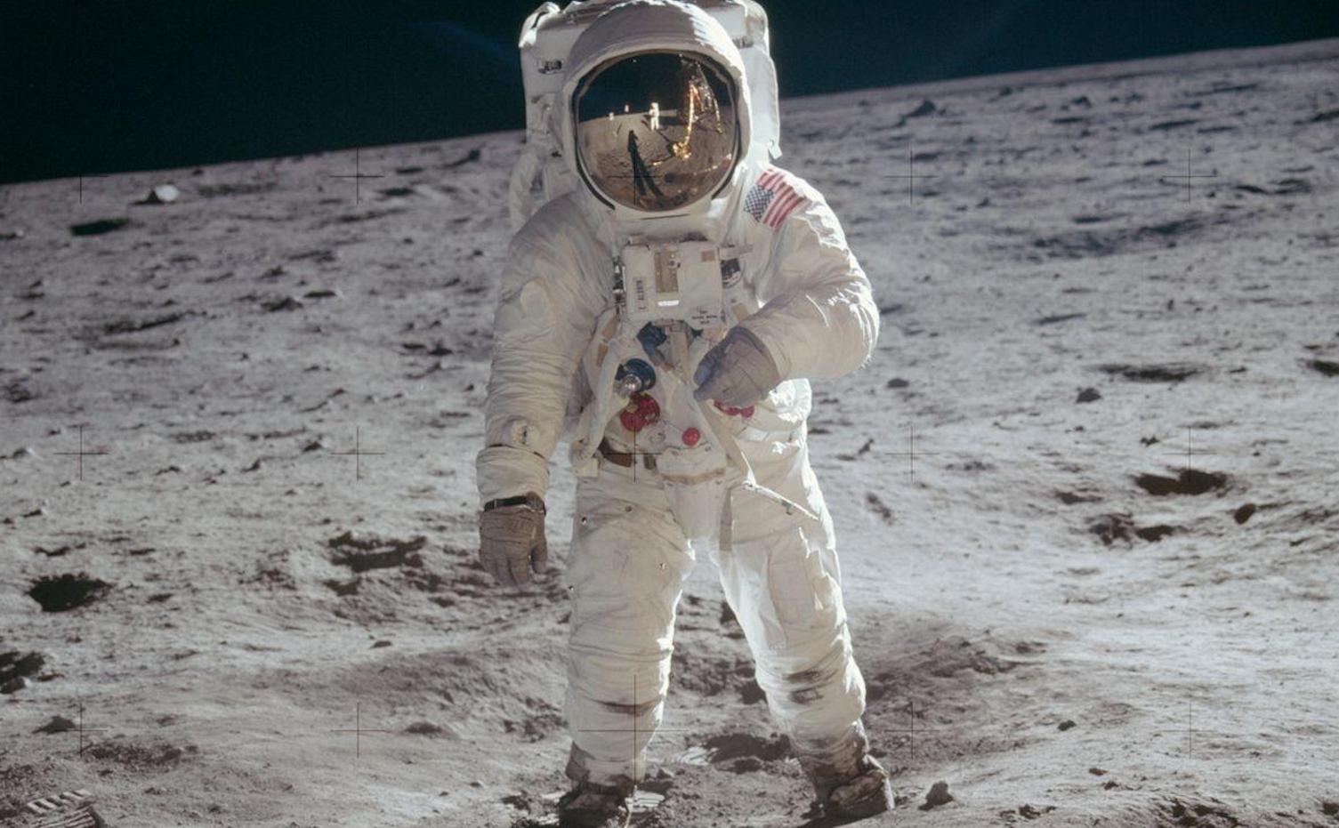 Foto 360º de la NASA revela lo que vio Buzz Aldrin al pisar la luna