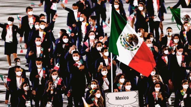 Delegación mexicana olimpiadas Tokio