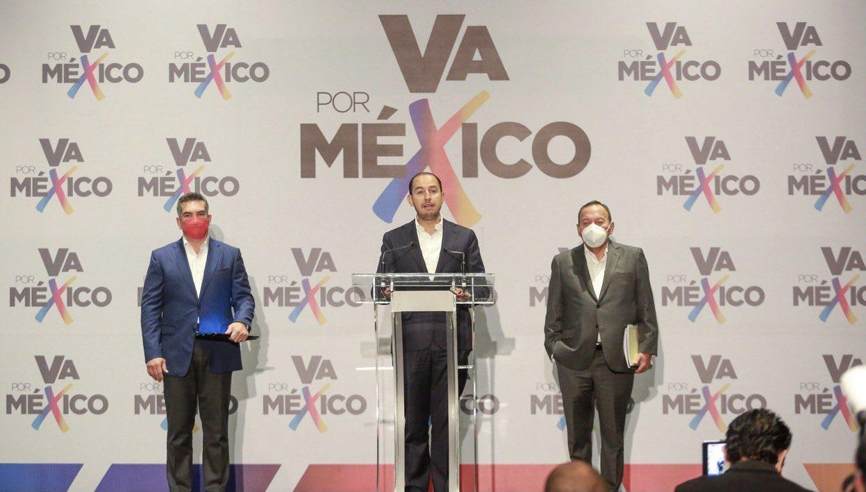 PAN, PRI y PRD piden anular elecciones de Campeche, Michoacán, Guerrero y SLP