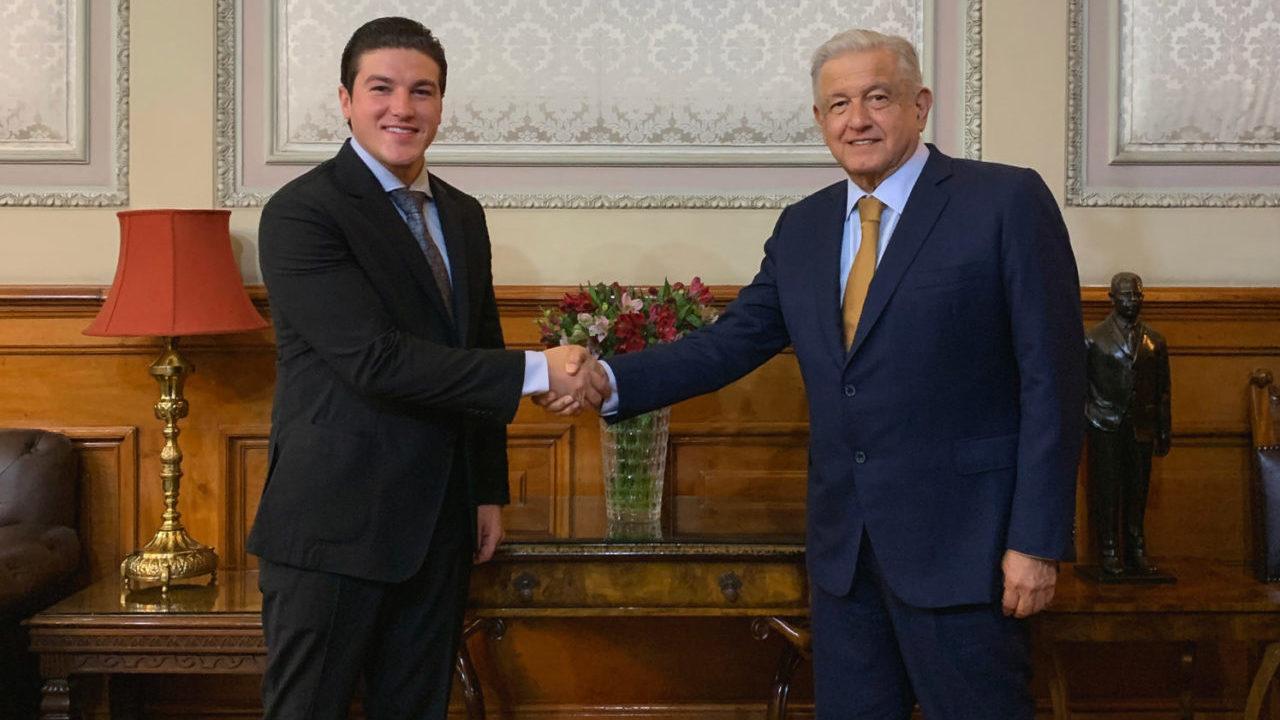 Agua, seguridad e infraestructura, acuerdos entre Samuel García y AMLO