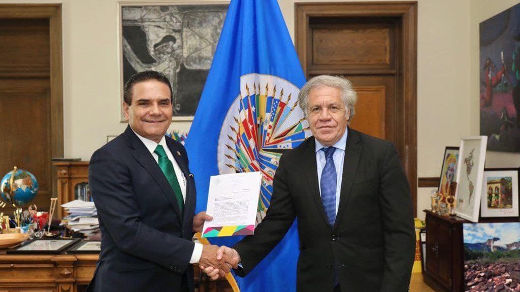 Aureoles alerta a la OEA que México podría convertirse en un narcoestado
