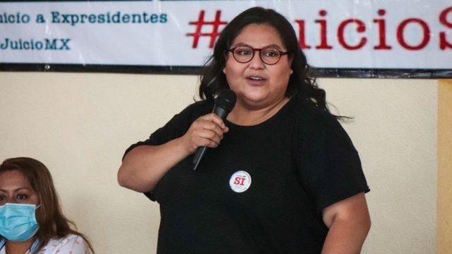Citlalli Hernández Mora, secretaria general de Morena. Foto. Morena