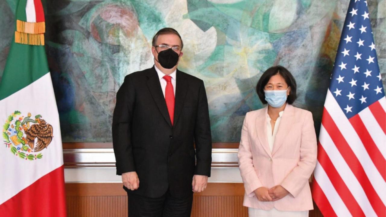 México y EU destacan 'diplomacia económica' en reunión con Katherine Tai