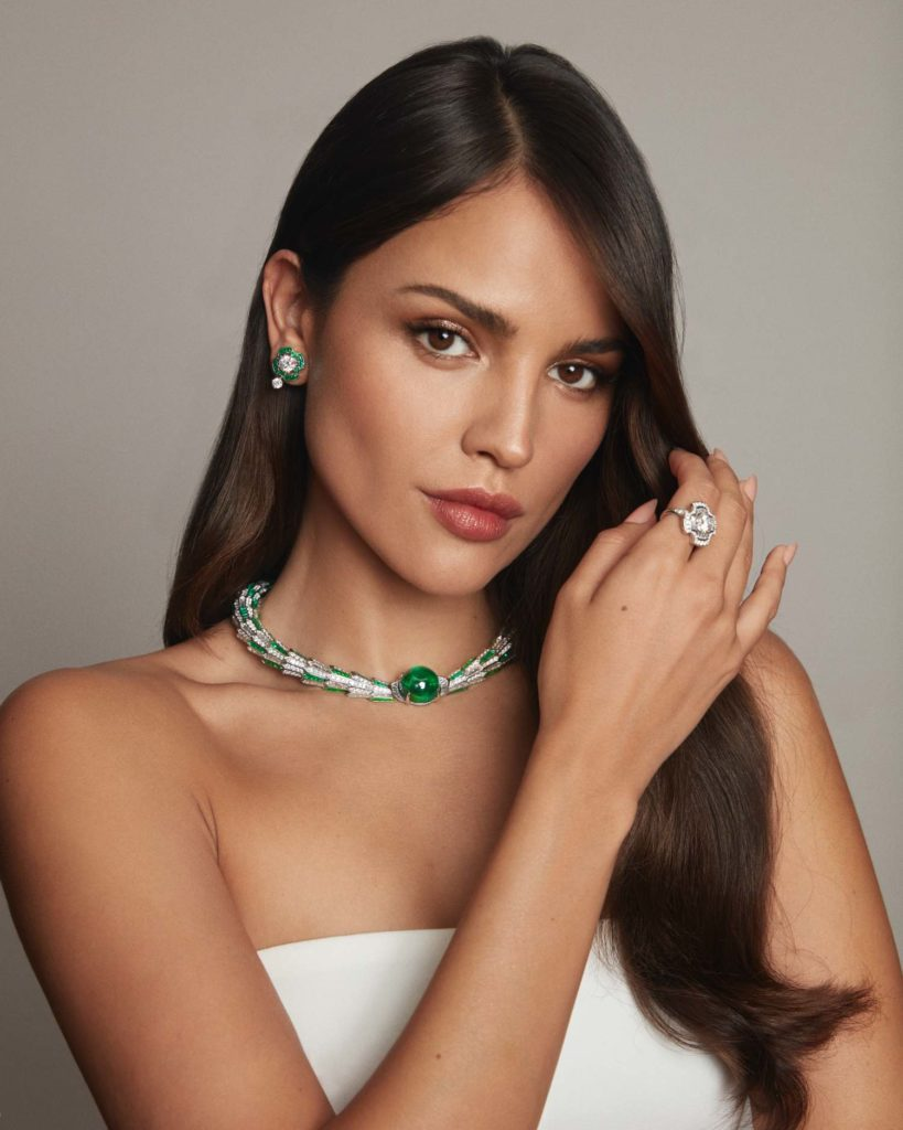 Eiza Gonzalez Bvlgari