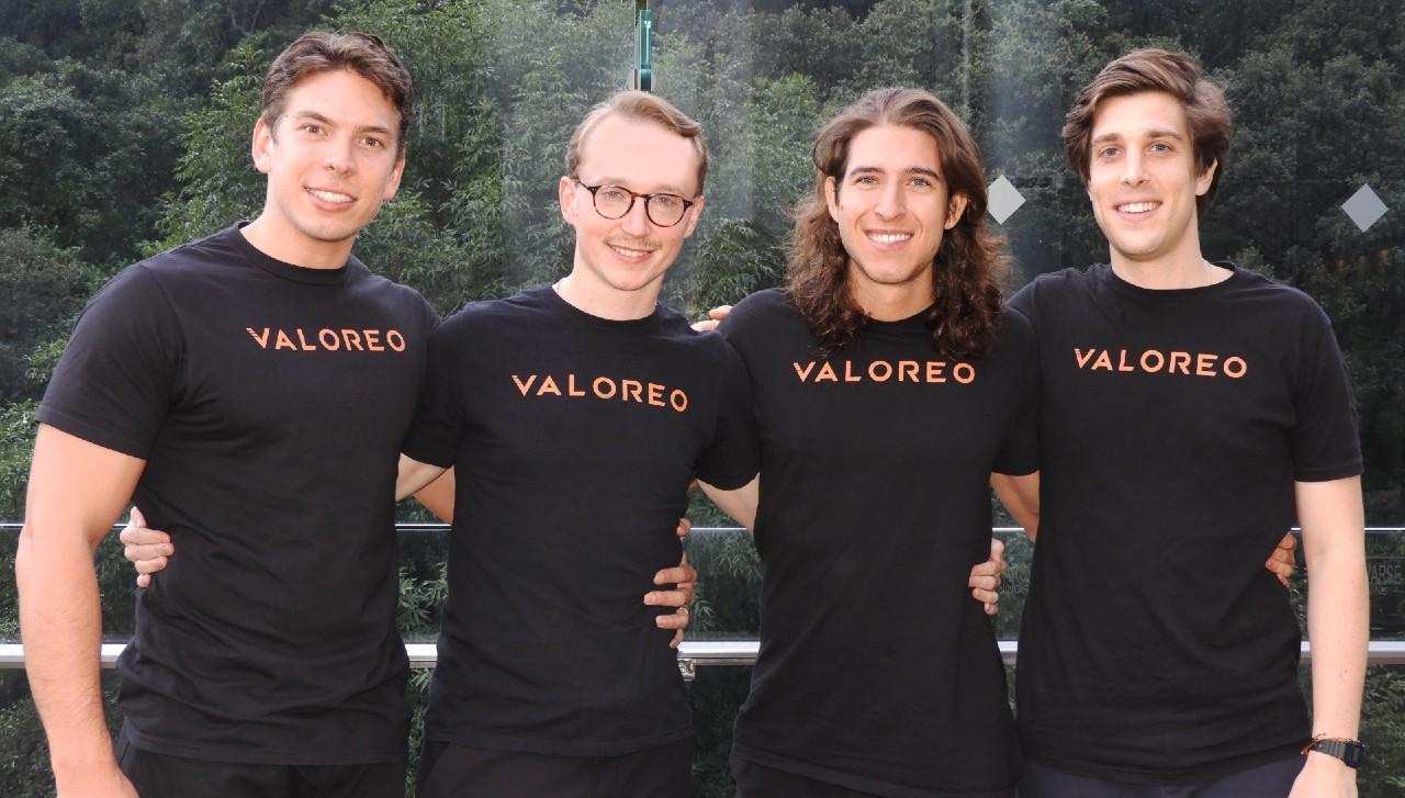 La startup Valoreo levanta 30 mdd; crecerá su equipo en México, Colombia y Brasil