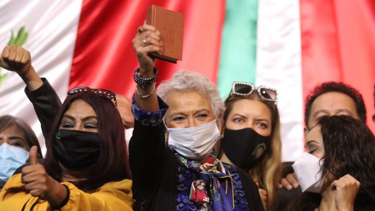 Sánchez Cordero reconoce escenario difícil en San Lázaro para negociar