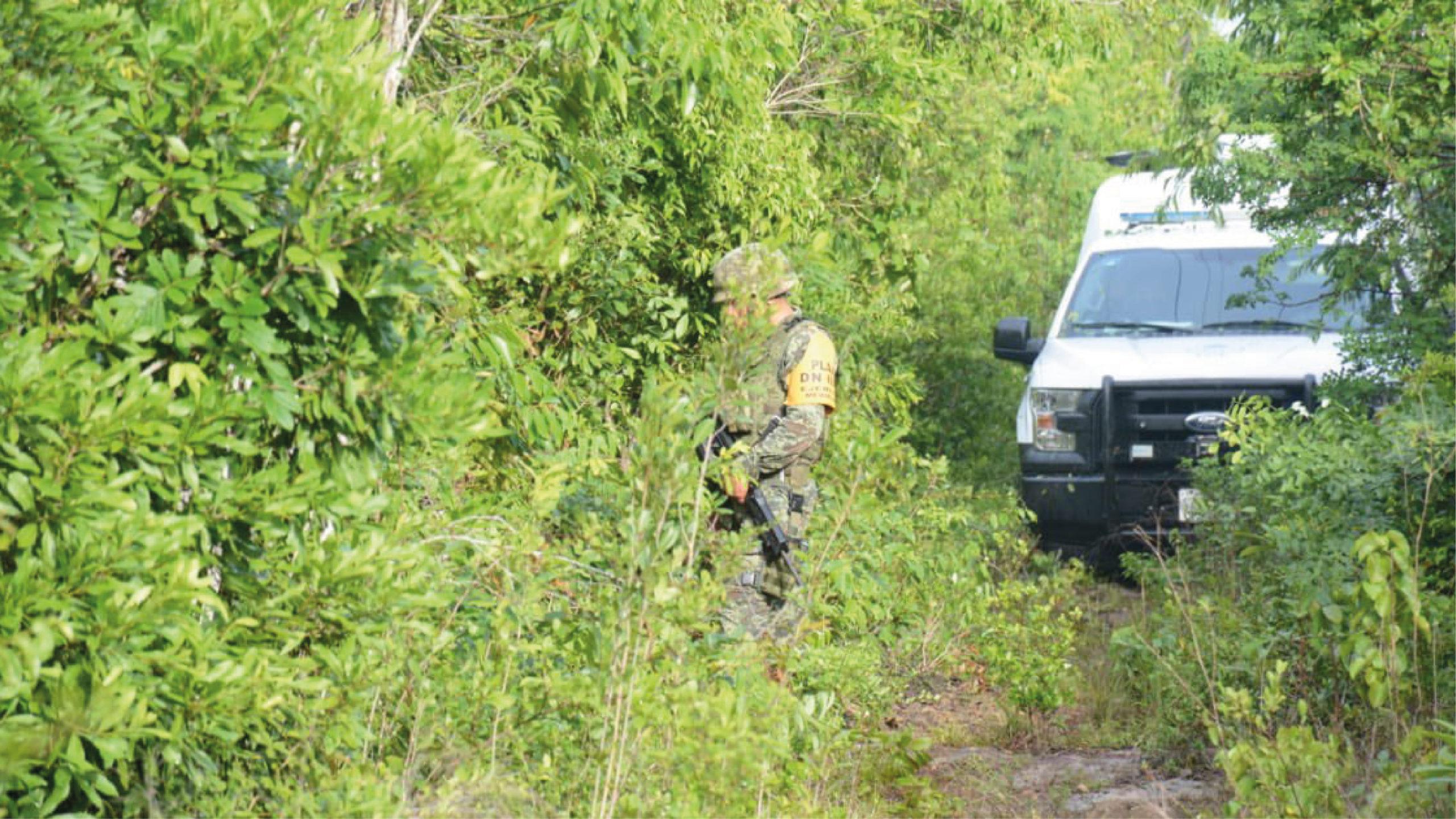 Localizan una fosa con restos de varias personas en Cancún