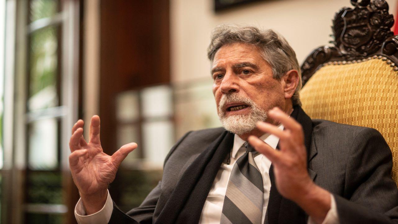 Francisco Sagasti: Lo más importante va a ser continuar con un estilo de gobierno transparente