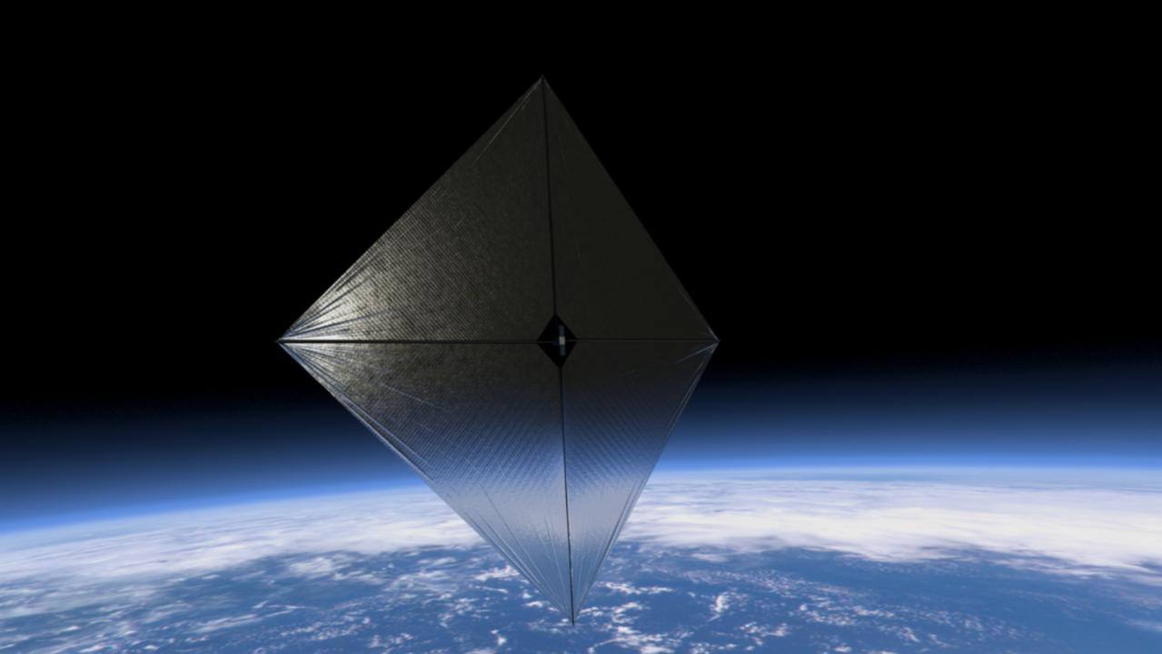 NASA impulsa la exploración espacial del futuro mediante velas solares