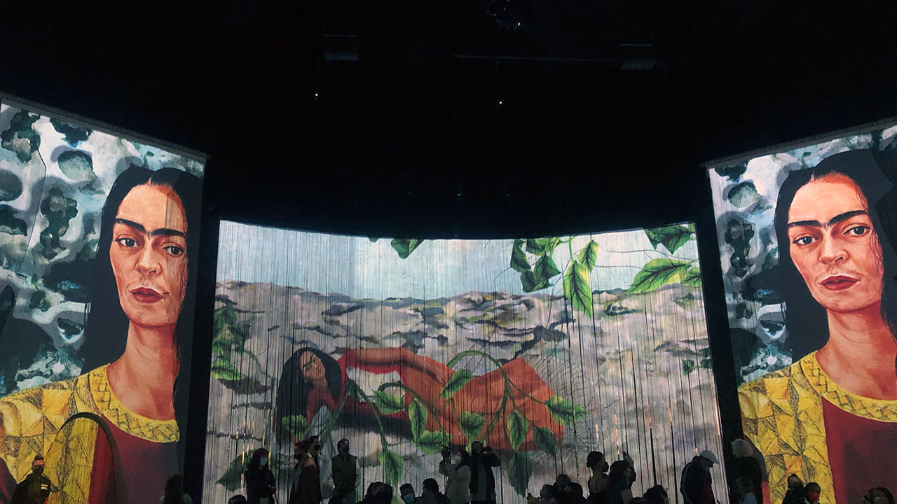 Frida Inmersiva, la experiencia multimedia