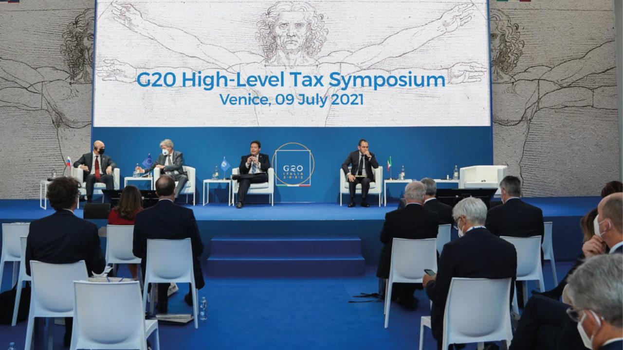 G20 avanza en la aprobación de un pacto sobre fiscalidad para sociedades