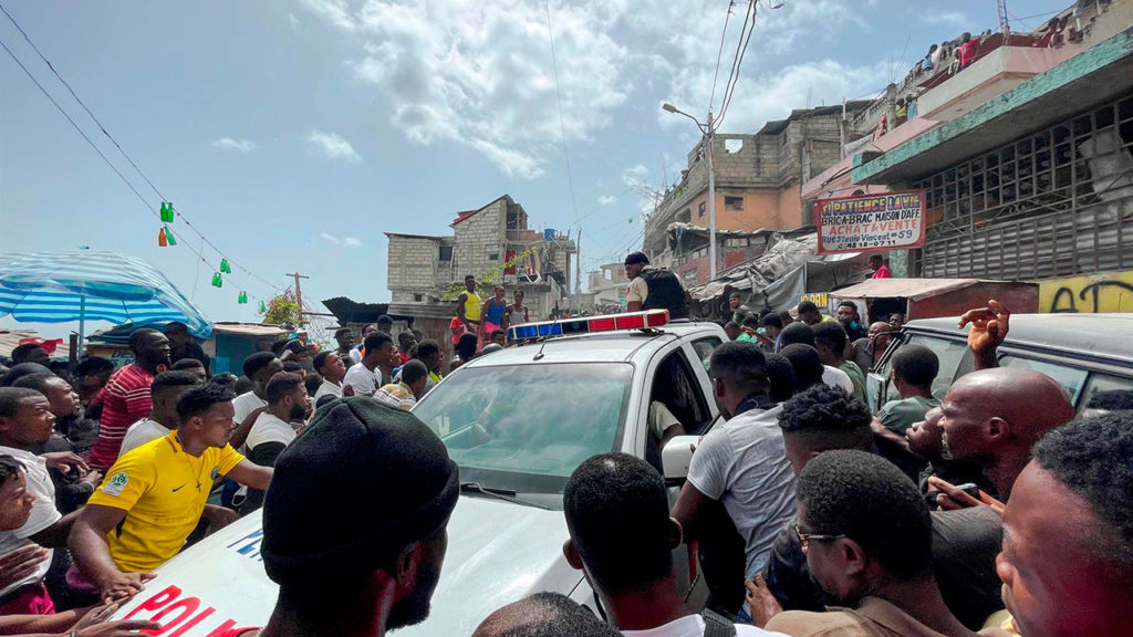 Protestas Haiti 8