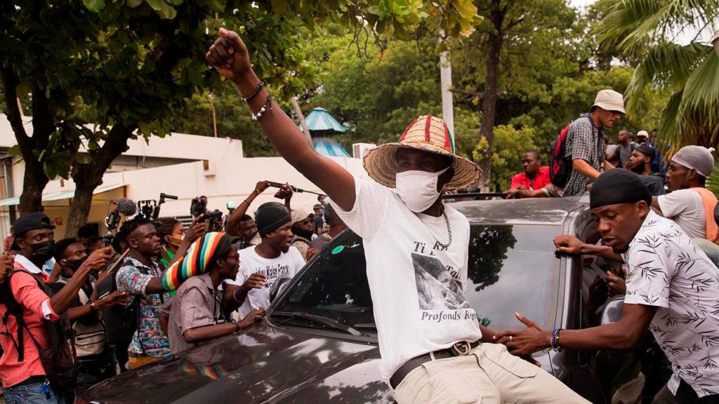 Haití protestas 4