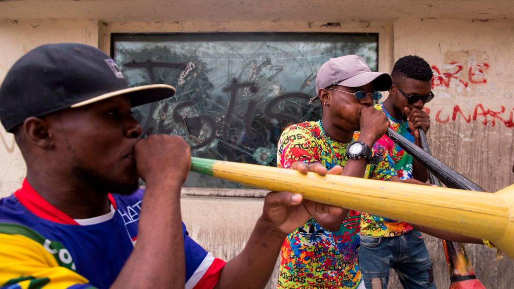 Haití protestas 3