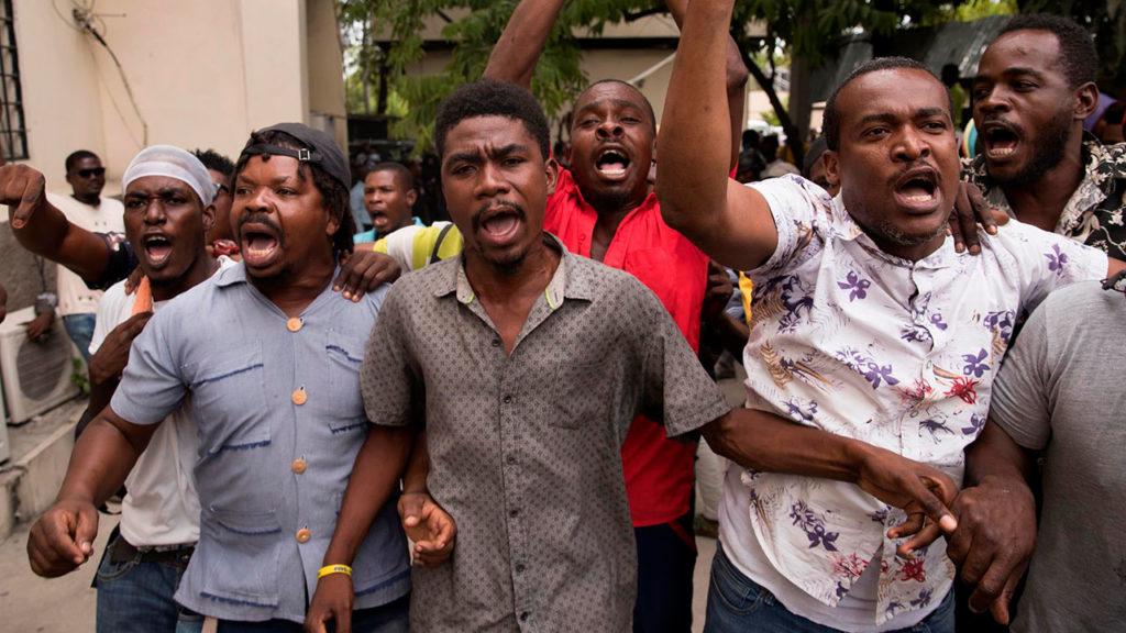 Haití protestas 1