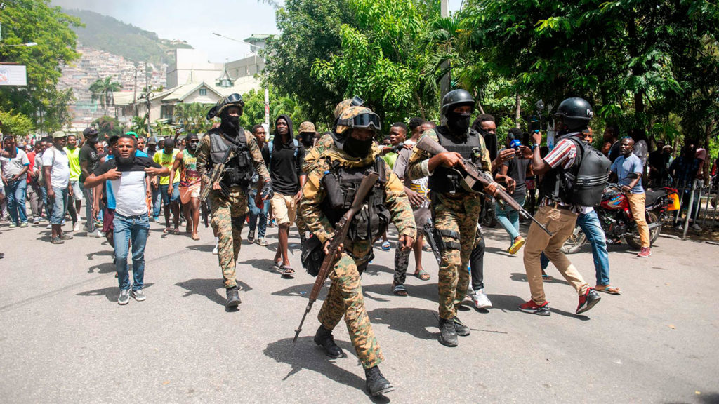 Protestas Haiti 11