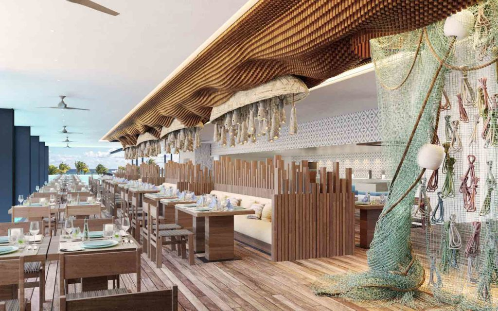 Hotel Xcaret arte restaurante