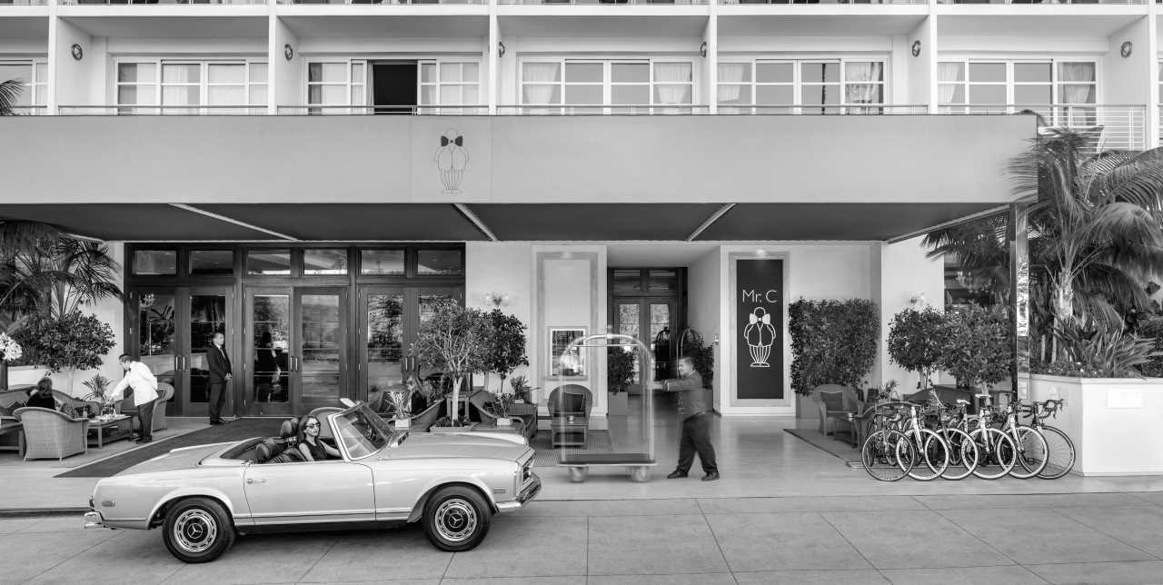 Mr. C Beverly Hills: glamour atemporal en Los Ángeles, California