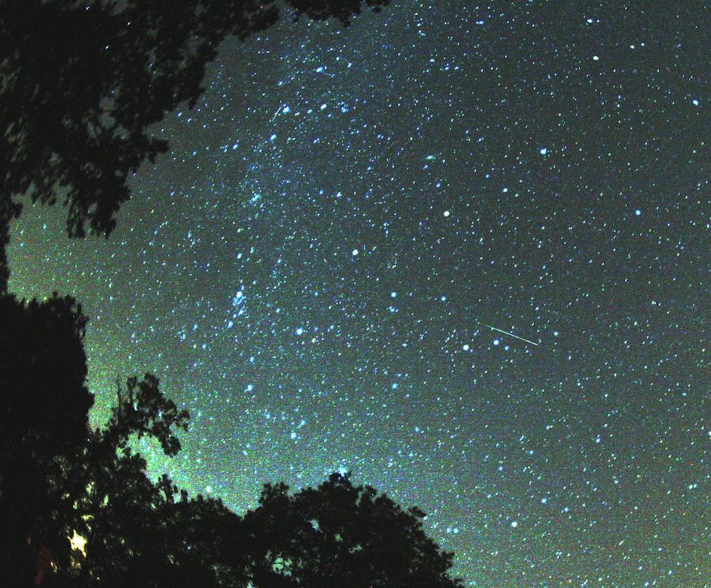 lluvia de meteoritos - perseidas