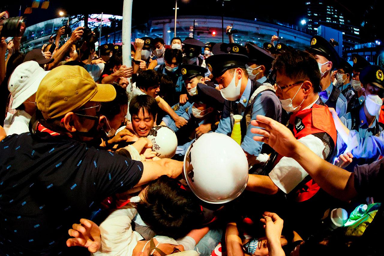 Fotogalería: La mitad de los japoneses dice 'no' a los Juegos Olímpicos