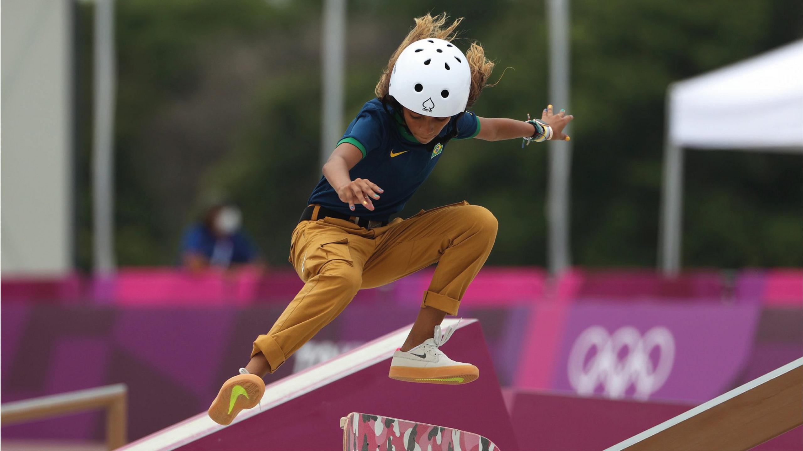 El skate femenino deja el podio más joven en la historia olímpica