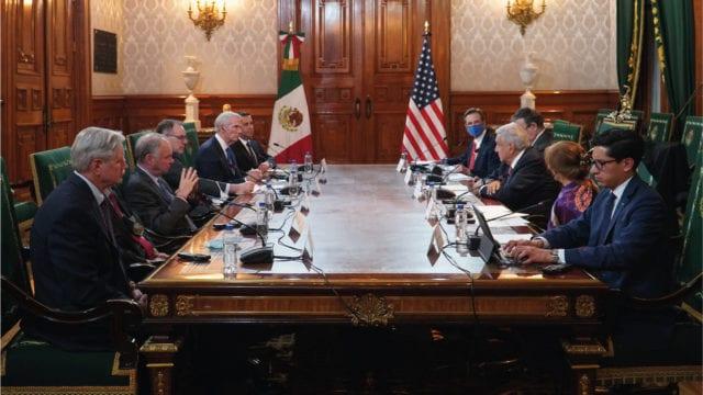 Senadores de EU conversaron con AMLO sobre Iniciativa Mérida