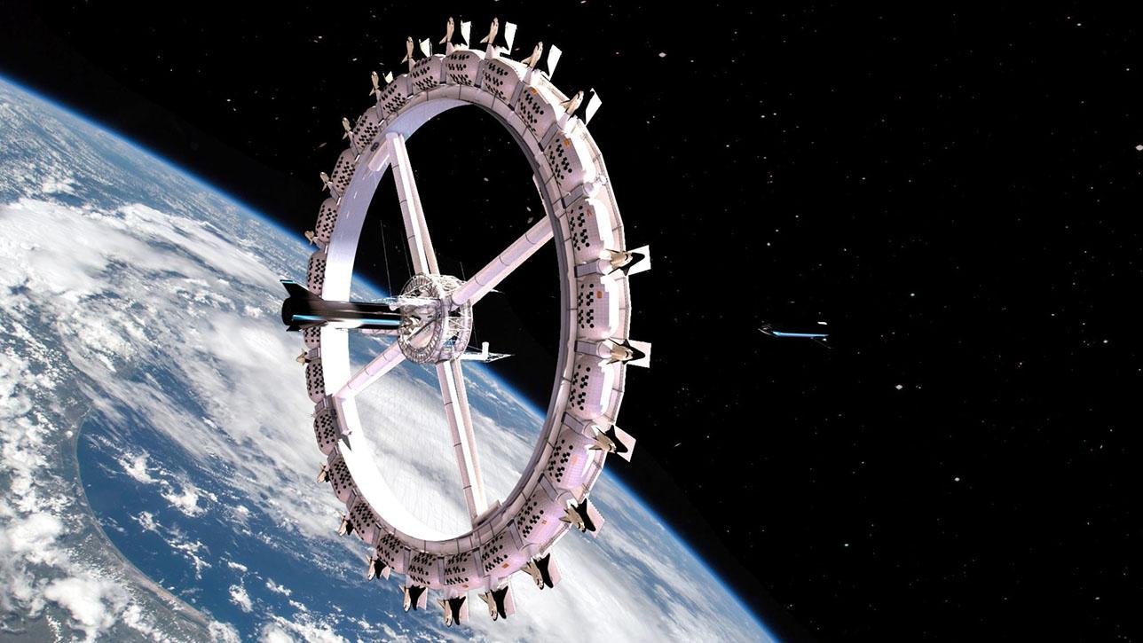 """""""Voyager Station"""", el primer hotel espacial de lujo"""