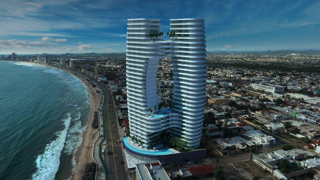Este será el edificio más alto y futurista de Mazatlán impulsado por 86 mdd