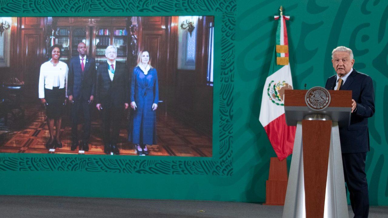 López Obrador lamenta asesinato de presidente de Haití