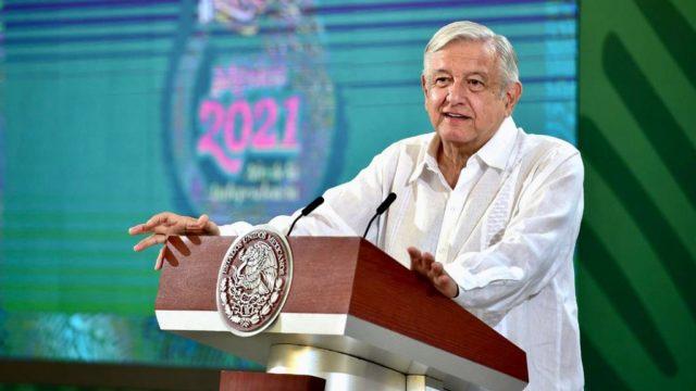 El presidente López Obrador. Foto: Gobierno de México.