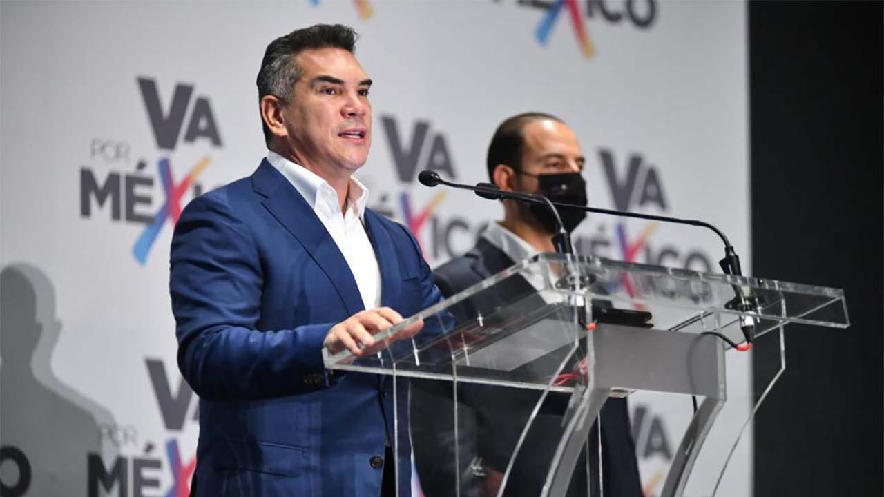 Alejandro Moreno enfatiza que no renunciará a la dirigencia del PRI