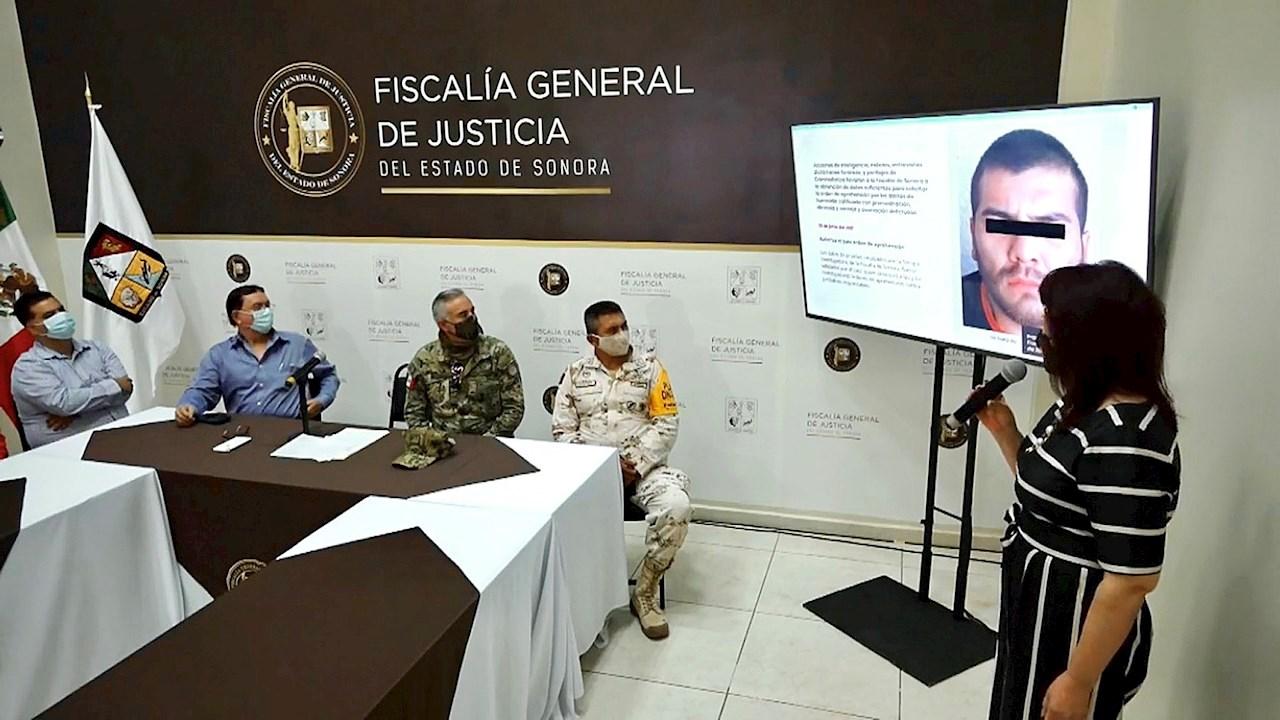 Detienen a presunto asesino del líder yaqui en Sonora