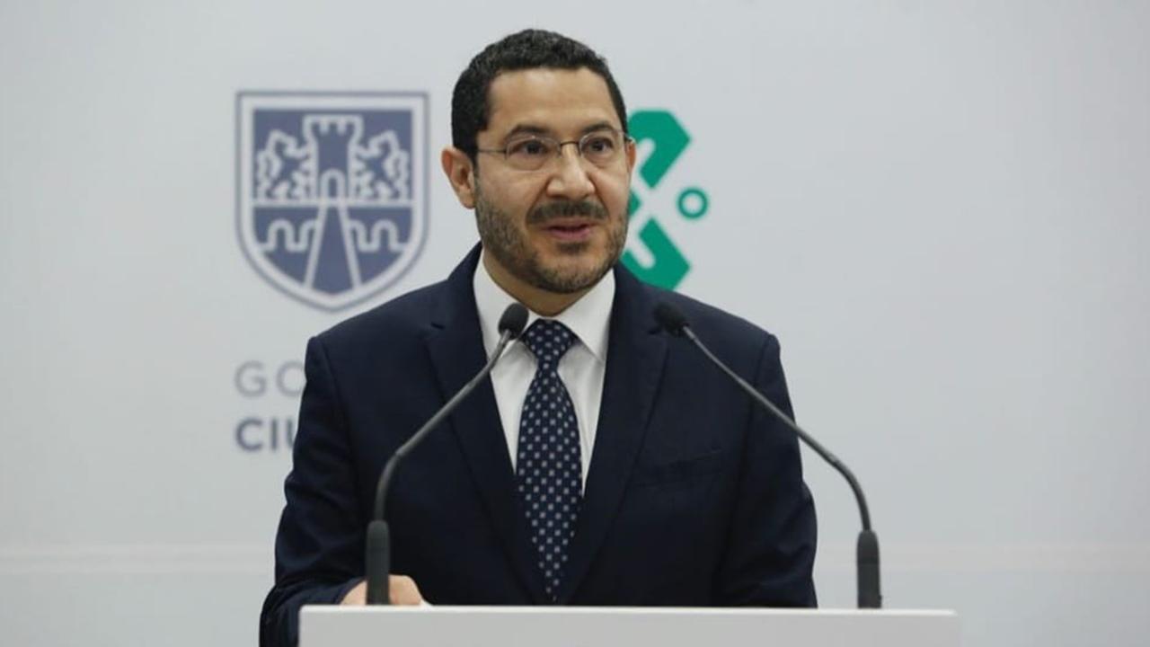 Martí Batres llega como secretario de Gobierno de la CDMX